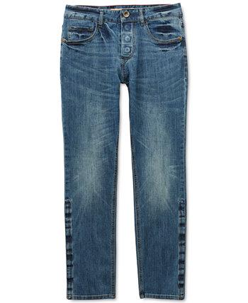 Мужские джинсы Belmore Slim Straight прямого кроя Power Stretch с магнитной ширинкой и фиксирующей застежкой Seven7