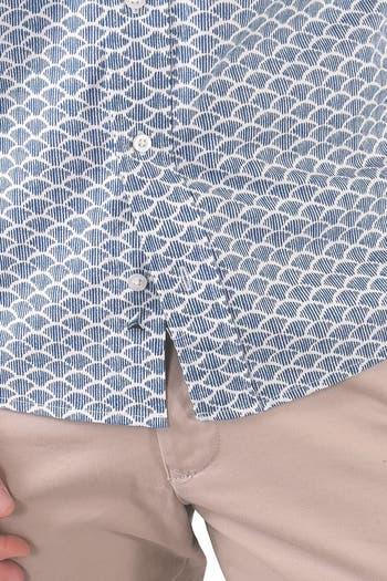 Рубашка стандартного кроя с короткими рукавами Airotec Performance Tailor Vintage