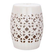 Safavieh Circle Lattice Ceramic Garden Stool Safavieh