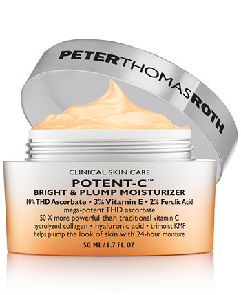Potent-C Bright & Plump Увлажняющий, 1,7 унции. Peter Thomas Roth