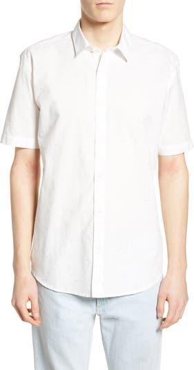 Рубашка обычного кроя с короткими рукавами Coloras Multi Slub COASTAORO