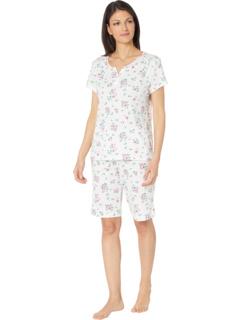 Пижама-бермуды с короткими рукавами Unfailing Love Karen Neuburger