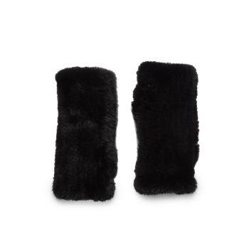 Перчатки из меха норки без пальцев La Fiorentina