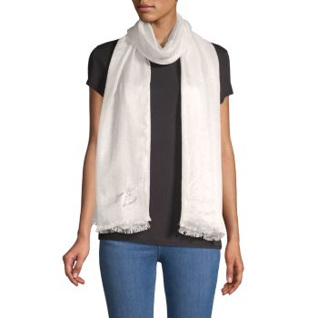 Фирменный шарф Karl Lagerfeld Paris