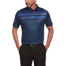 Мужская рубашка-поло для гольфа в полоску классического кроя Jack Nicklaus StayDri Driver для гольфа Performance Jack Nicklaus