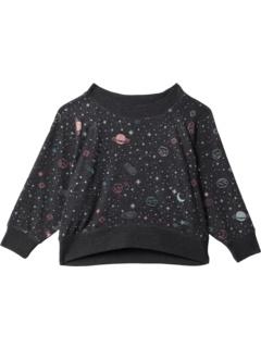 Укороченный укороченный пуловер реглан Bliss Knit Boxy с длинными рукавами (для малышей / маленьких детей) Chaser Kids
