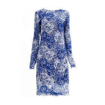 Кружевное платье с вышивкой Coachmen Tadashi Shoji