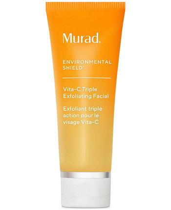 Environmental Shield Vita-C Triple Exfoliating Facial, 2,7 унции. Murad