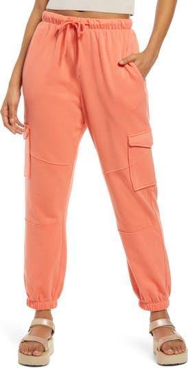 Спортивные брюки карго с завязками на талии BP.