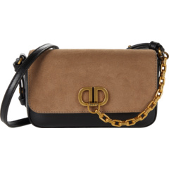 Замшевая сумка через плечо Clement с клапаном DKNY
