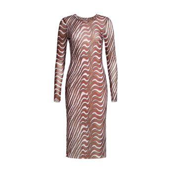 Прозрачное платье с длинными рукавами от Coastal Communities Jolanda BAUM UND PFERDGARTEN