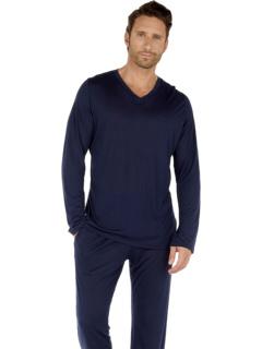 Рубашка с длинным рукавом из модала Cocooning HOM