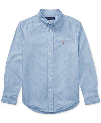 Оксфордская рубашка Big Boys Blake Ralph Lauren