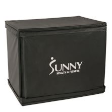 Sunny Health & Fitness Wood Plyo Box with Removable Foam Cover Sunny Health & Fitness
