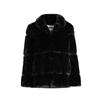 Куртка Skylar из искусственного меха со вставками APPARIS