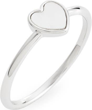 Перламутровое Сердце Кольцо Pura Vida