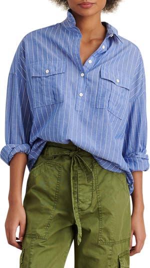 Рубашка оверсайз в полоску ALEX MILL