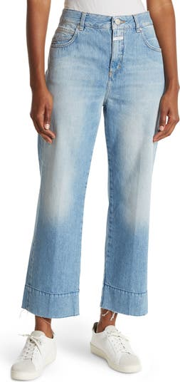 Gloria Straight Leg Ankle Crop Jeans CLOSED