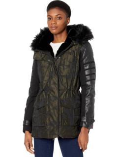Куртка Enfield Hybrid с камуфляжным принтом Blanc Noir