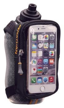 Изолированная фляжка SpeedView с чехлом для телефона - 18 эт. унция $ 12.99 Nathan