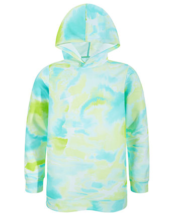 Big Girls Tie-Dyed Tunic Hoodie, Created for Macy's Ideology