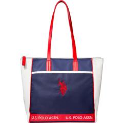 Перфорированная нейлоновая спортивная сумка U.S. POLO ASSN.