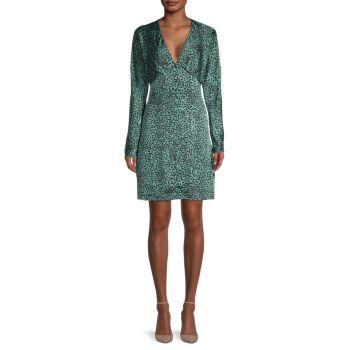 Платье Rommily с принтом и завышенной талией EQUIPMENT
