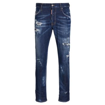 Рваные джинсы 1964 Skater DSQUARED2