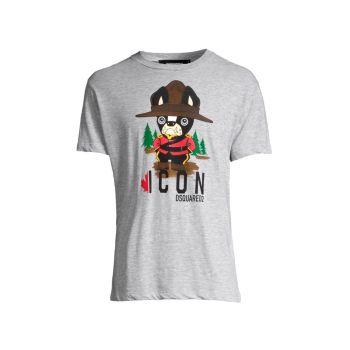 K-Park Ranger Dog T-Shirt DSQUARED2