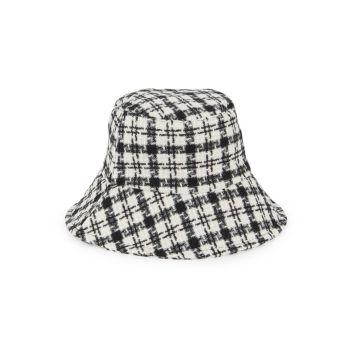 Клетчатая шляпа-ведро Marcus Adler