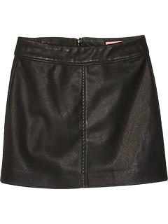 Vegan Leather Skirt (Big Kids) Blank NYC Kids