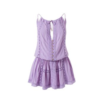 Короткое платье Chelsea из хлопка Melissa Odabash
