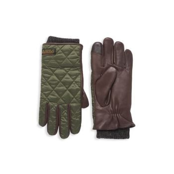 Стеганые полевые перчатки Touch Polo Ralph Lauren