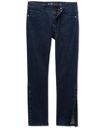Мужские джинсы Vouvant Adaptive Slim-Straight Power Stretch с текстурированной поверхностью Seven7