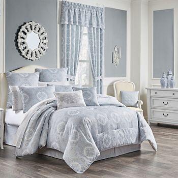 Royal Court Claremont Blue 4-Piece Comforter Set Royal Court