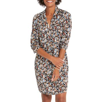 Раскрашенное платье с леопардовым принтом NIC+ZOE