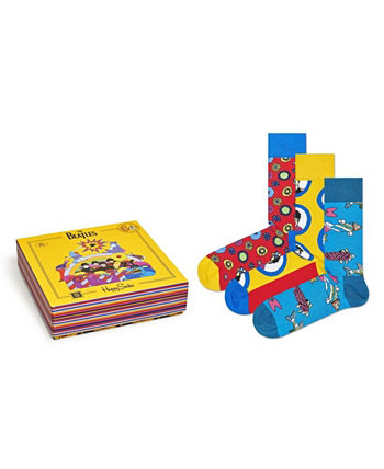 Beatles Collector 3 Pack Носок Happy Socks