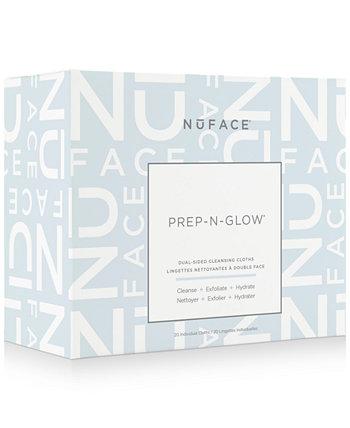 20-Рк. Очищают, отшелушивают, увлажняют ткани Prep-N-Glow NuFACE
