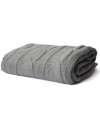 Мягкий трикотажный плед с двойным тросом Happycare Textiles