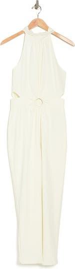 Мини-платье с открытой спиной и рукавами летучая мышь Harlyn