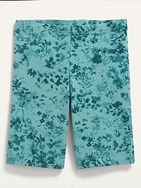 Built-In Tough Jersey-Knit Long Biker Shorts for Girls Old Navy
