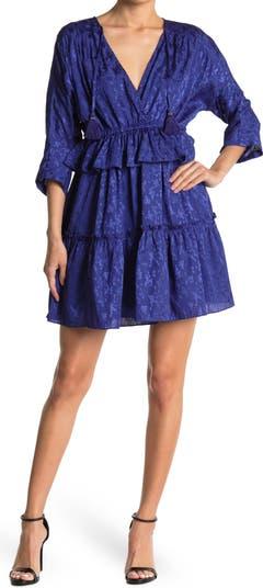 Платье Kenny из атласного жаккарда NSR