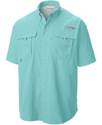 Мужская рубашка с коротким рукавом Big and Tall Bahama II Columbia
