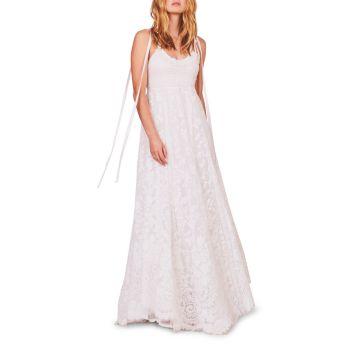 Платье с вышивкой Shoshana LOVESHACKFANCY