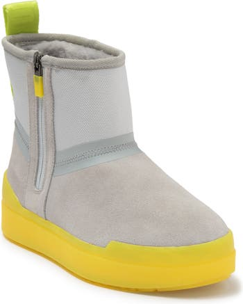 Мини-ботинки Classic Tech на подкладке из натуральной овчины UGG