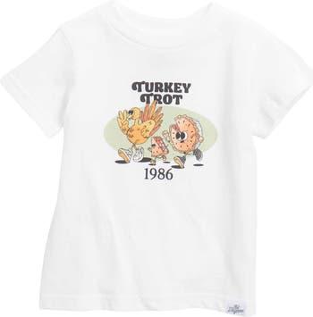 Turkey Trot Graphic T-Shirt Kid Dangerous