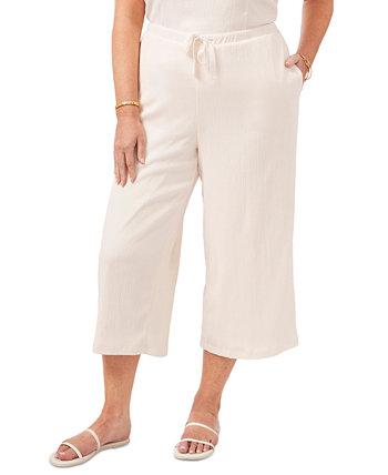 Trendy Plus Size Cropped Drawstring Pants 1.STATE