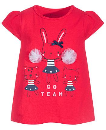 Хлопковая туника Baby Girls Go Team, созданная для Macy's First Impressions