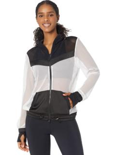 Куртка Alfresco с цветными блоками Blanc Noir