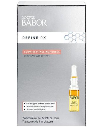Doctor Babor Refine Rx Glow Двухфазные концентраты ампул, 0,2 унции. BABOR